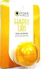 Organic Harvest Happy Lips Shea Lip Repair Lip Balm (with Shea Butter) 10gm with Ayur Product in Combo