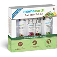 Mamaearth Hair Repair & Care Kit (Oil, Shampoo, Conditioner & Tonic) with Red Ginseng, Amla, Bhringraj & Milk Protien. No Harmful chemicals like sulfates, silicones.