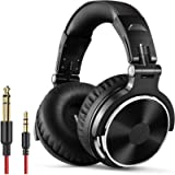 OneOdio Over Ear Headphone Studio Wired Bass Headsets with 50mm Driver, Foldable Lightweight Headphones with Shareport…