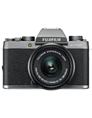 Fujifilm X-T100 24.2MP Mirrorless Camera (Silver) with XC15-45mm Lens Kit