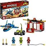 LEGO 71703 NINJAGO BatallaenelCazaSupersónico, Juguete de Construcción