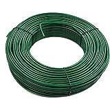 ESTEXO spandraad 3,8 mm verzinkt in antraciet of groen, lengte naar keuze 3,8 mm x 80 m mosgroen RAL 6005