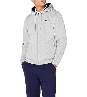 b6308d3220d2 Lacoste Sh2128 - Sweat-Shirt - Homme  Amazon.fr  Vêtements et ...