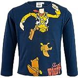 Disney Toy Story 4 – Camiseta de manga larga – Woody y Buzz – niño – Producto original con licencia oficial 0931SH