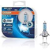 64210CBI-HCB COPPIA LAMPADE OSRAM COOL BLUE INTENSE H7, FARI ALOGENI PER AUTO, 12V 55W 4200K XENON LOOK