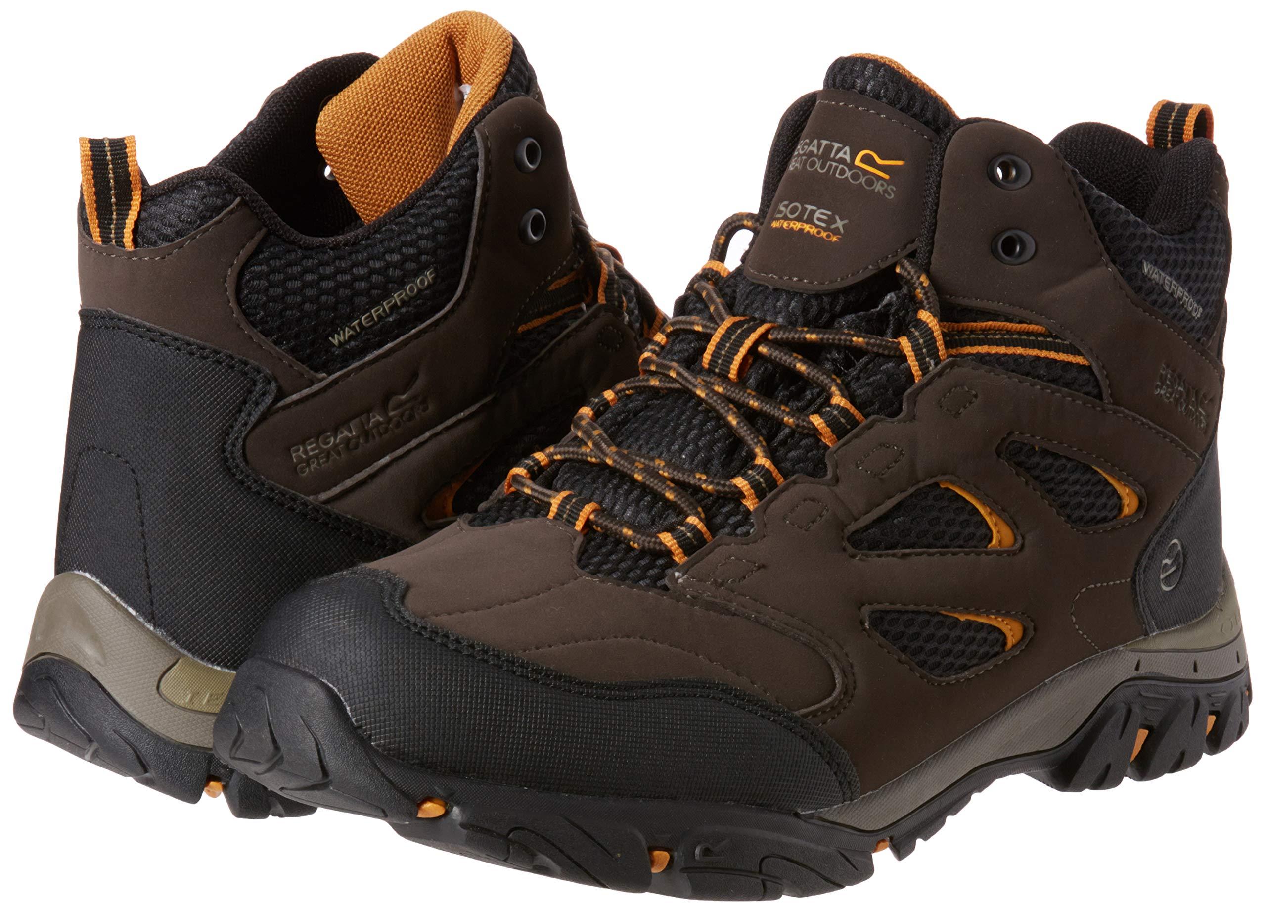 Regatta Men's Holcombe IEP Mid High Rise Hiking Boots 5