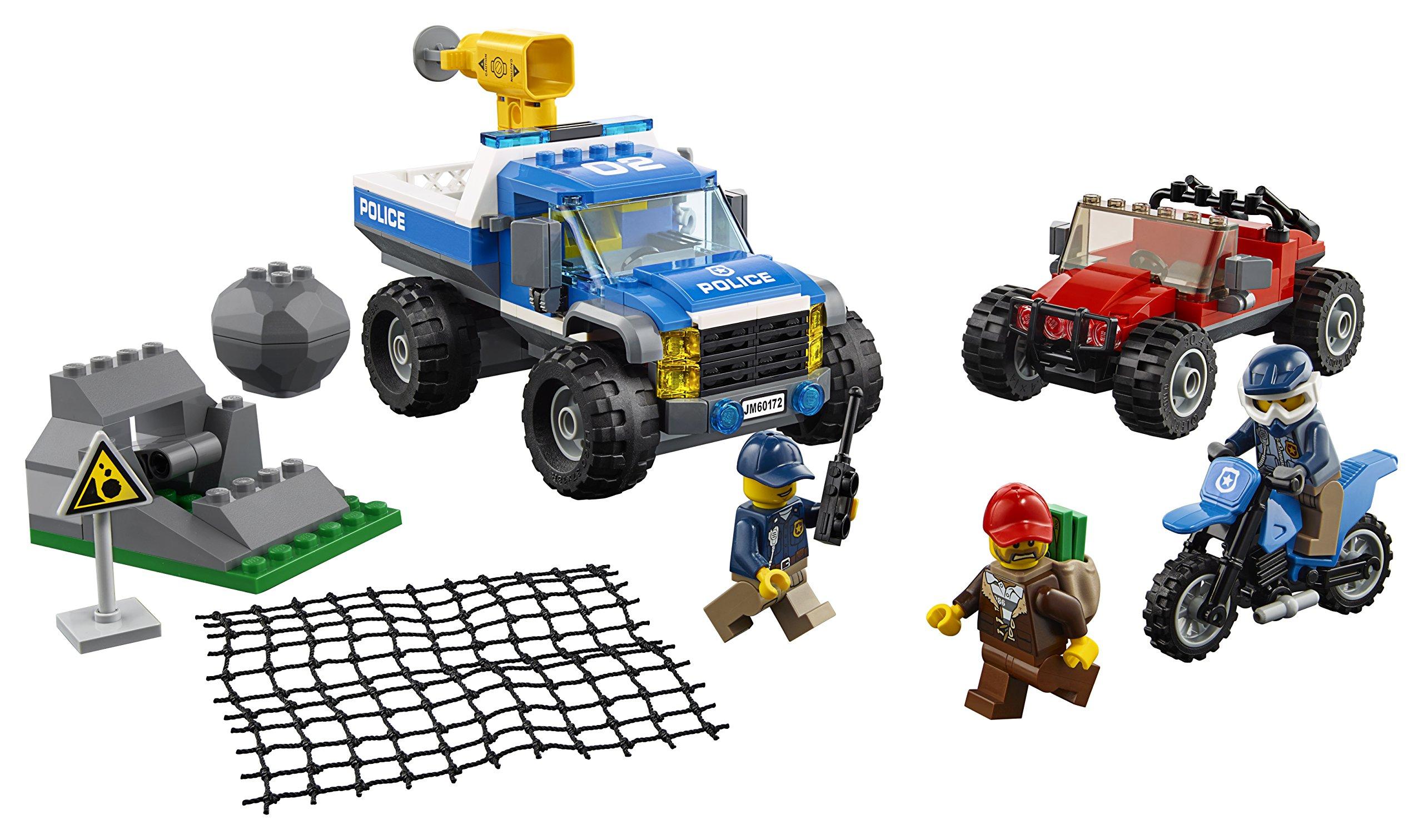 LEGO- City PoliceDuello Fuori Strada, Multicolore, 60172 2 spesavip