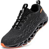 LARNMERN Scarpe da Ginnastica Uomo Donna Corsa Respirabile Mesh Sportive Fitness Running Sneakers Basse Interior Casual…