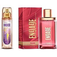 Engage W2 Perfume Spray For Women, 120ml & Yang Eau de Parfum For Women, 90ml Combo