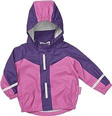 Playshoes Kinder Regenmantel 408650 Sportliche Regenjacke für Kinder, mit Reflektoren, Oeko-Tex Standard 100 (Weitere Farben)
