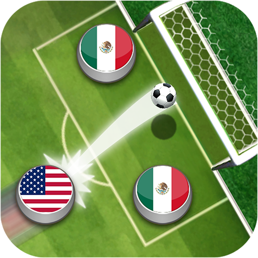 Fußball Flick Liga -  Ball Pokal:  Champions Kick Simulator