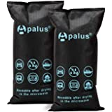 Apalus 2x1KG Silica Gel Auto-ontvochtigerzak, Droge Lucht, DMF-vrij, Herbruikbare Vochtvanger, Automobiele-ontvochtiger, Geen