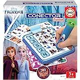 Educa - Conector Junior Frozen II Juego de preguntas y respuestas, Incluye boli sabio con led, para niños de entre 3 y 5 años