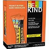 BE-KIND Barretta al Gusto di Burro di Arachidi e Cioccolato Fondente, Snack Senza Glutine, 1 Confezione x 12 Barrette da…