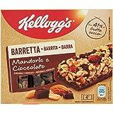 Kellogg's Barretta Mandorle e Cioccolato, 128g