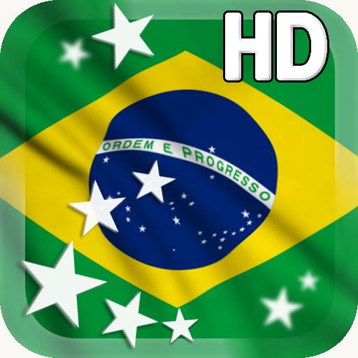 Brazil Flag LWP (Desktop-flags)