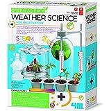 مجموعة الطقس العلمية من 4 ام، التغير المناخي، الاحتباس الحراري، مختبر - العاب ستيم التعليمية، يمكن تقديمها كهدية للاطفال والم