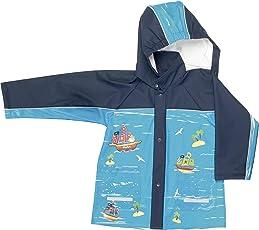 Playshoes Regen-Mantel Pirat 408562 Jungen Jacken & Mäntel/Regenmäntel