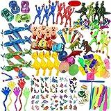 ASYBHYY Juguetes Cumpleaños Infantiles Juguete del Partido Favor 120 Pcs Juguetes para Rellenar piñatas y Bolsas de Regalo de