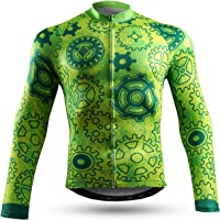 NEENCA Men's Cycling Bike Jersey Short/Long Sleeve, Cycling Biking Shirt Full Zipper Breathable Quick Dry (Limited-time…