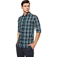 Amazon Brand - House & Shields Men's Regular Fit Casual Shirt