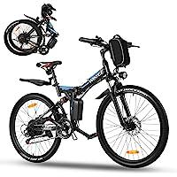 Vivi Ebike Mountainbike 26 Zoll E Bike Damen Herren,350W Elektrofahrrad klapprad mit Abnehmbare 36V 8Ah Lithium-Ionen…