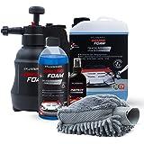 Mediashop Platinum Amazing Foam Set – Autoreiniger und Autopflege – entfernt hartnäckigen Schmutz und sorgt für Glanz – auch