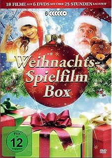 Spielfilme An Weihnachten 2019.Die Schönsten Filme Zu Weihnachten Box Amazon De Barbara