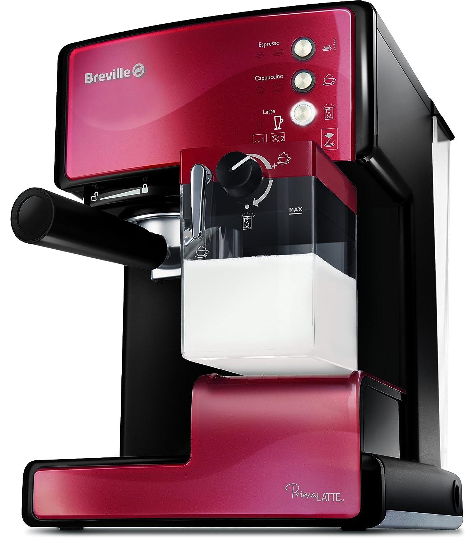 Espresso Siebträgermaschine bis 200 Euro Breville VCF045X Prima Latte Kaffeemaschine Espresso-Siebträgermaschine