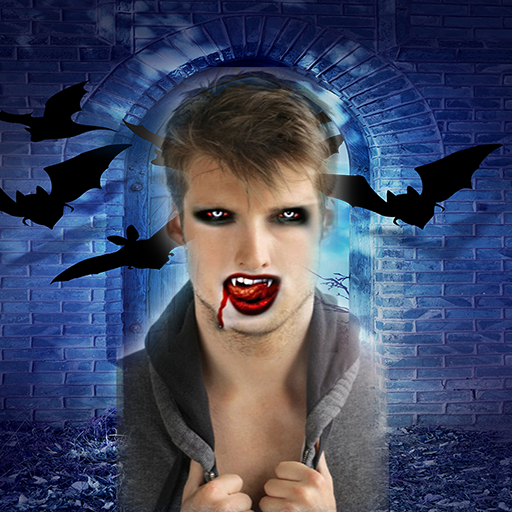 Vampire Face Booth FX Scary Photo Maker