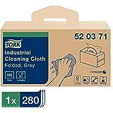 Tork 520371 Chiffon de nettoyage industriel W7 - 280 Unités - Gris