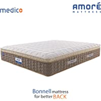 Amore International Medico Eurotop 6 inch Bonnell Spring Mattress(72x30x6).