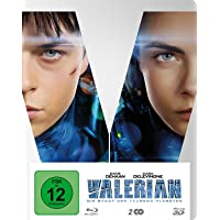 Valerian - Die Stadt der tausend Planeten BD 3D/2D Steelbook + digitale Copy (exklusiv bei Amazon.de) [3D Blu-ray…
