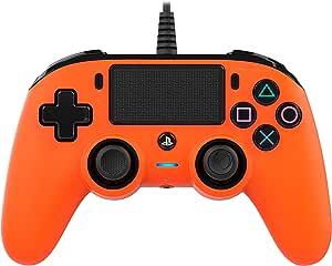 BigBen Interactive Nacon Compact Controller, Arancione - PlayStation 4
