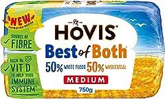 Hovis Best Of Both Medium White Bread, 750 g