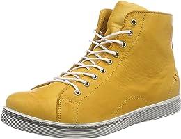Andrea Conti Damen 0341500 Hohe Sneaker