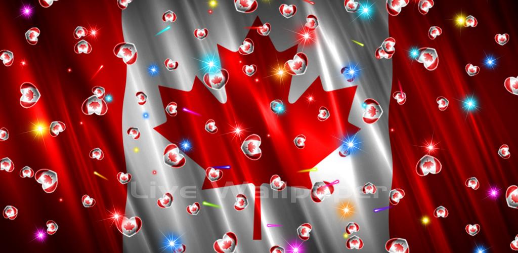 Canada Flag Heart - 2