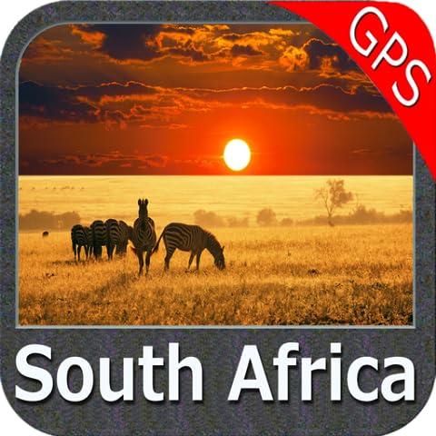 South Africa gps map navigator