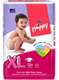 Bella Baby Happy Extra Large Diapers Green (46 Piece)