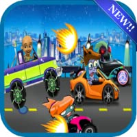 Mini Upin Road Battle Zombis