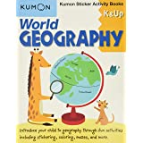 World Geography Sticker Activity Book: K & Up: Kumon Sticker Activity Book