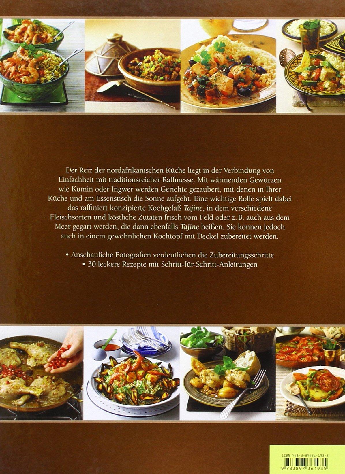 Tuareg Ø 26cm unglasiert inklusive Kochbuch Vegetarischer Genuss aus Nordafrika original aus Marokko handgetöpfert aus Marrakesch frei von Schadstoffe Tuareg Ø 26cm für 1-3 Personen Tajine für 1-3 Personen Tontopf zum Kochen