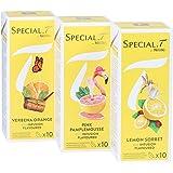 Special.T - Bio Agrumes Mélange - à base de plantes et de fruits (3 types de 10 capsules)