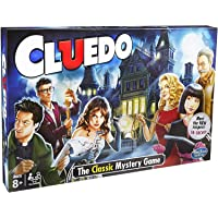 PERA MART The Classic Cluedo Mystery Friends and Family Entertainment Board Game | for 3 to 6 Players (Cluedo)
