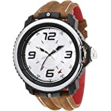 Fastrack Analog Silver Dial Men's Watch NM38017PL02 / NL38017PL02