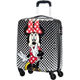 American Tourister Disney Legends Spinner S Equipaje de Mano Infantil, 55 cm, 36 L, Multicolor (Minnie Mouse Polka Dot)