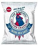 Chicken Crackling Hand Cooked Snack. Sea Salt Flavour. Low Carb, High Protein, Keto, Gluten-Free Alternative To Pork...