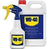 WD-40 Prodotto Multifunzione Lubrificante Tanica da 5 Litri + Dosatore Spray Incluso