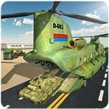 Avión de transporte de carga de ejército
