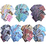 1000 Pièces Set d'Autocollant Washi et Fournitures de Papier de Scrapbooking Vintage, Inclure 200 Pièces Autocollant Washi et